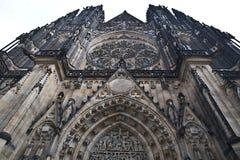 Собор St. Vitus в Праге Стоковое Изображение