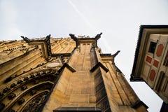 Собор St. Vitus в Праге Стоковое Изображение RF