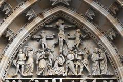Собор St. Vitus, Прага стоковая фотография rf