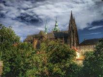 Собор St Vitus Стоковое фото RF