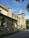 собор stavanger стоковое изображение rf