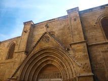 Собор StSophia в Никосии стоковое фото