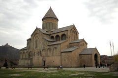 Собор Svetitskhoveli в Mtskheta стоковое фото rf