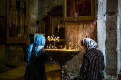 Собор Svetitskhoveli в Mtskheta Стоковые Изображения RF