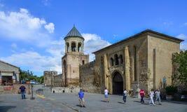 Собор Svetitskhoveli Mtskheta, Грузии стоковое изображение rf