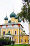 Собор Transfiguration. Кремль в Uglich. Стоковые Изображения RF