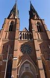 собор uppsala Стоковая Фотография RF