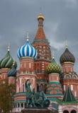 Собор Vasily благословленное на красной площади Стоковые Изображения RF