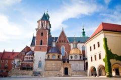 Собор Wawel в Краков Стоковая Фотография RF