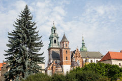 Собор Wawel & x28; Poland& x29; стоковое фото rf