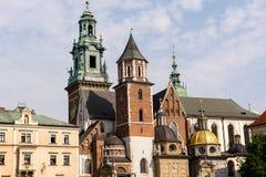 Собор Wawel & x28; Poland& x29; стоковое изображение rf
