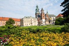 Собор Wawel & x28; Poland& x29; стоковые изображения rf