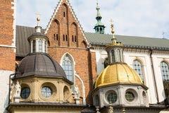 Собор Wawel & x28; Poland& x29; стоковые фотографии rf