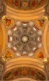 Внутри собора Зальцбурга Стоковая Фотография