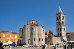 Собор Zadar римско-католический, Zadar, Хорватия стоковая фотография