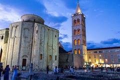 Собор Zadar Donat Святого стоковое фото rf