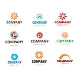 Логосы компании Стоковое Фото