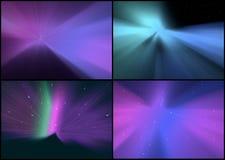 Собрание абстрактных предпосылок Стоковые Изображения RF