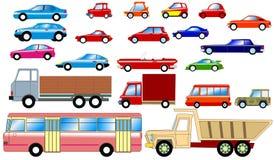собрание автомобилей Стоковые Изображения