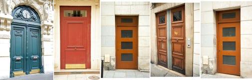 Собрание двери Парижа Стоковая Фотография RF