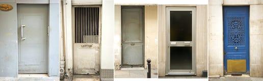 Собрание двери Парижа Стоковые Изображения