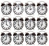 Собрание времени будильника Стоковая Фотография RF