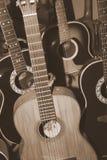 Собрание гитары стоковая фотография