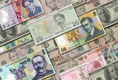 Собрание денег Стоковое Изображение