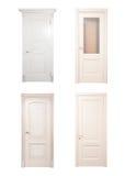 Собрание деревянных дверей Стоковая Фотография
