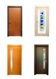 Собрание деревянных дверей Стоковые Фотографии RF