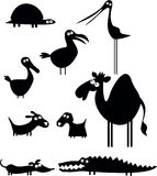 собрание животных смешное Стоковое фото RF