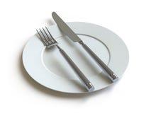 собрание здесь нажимает tableware Стоковые Фото