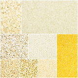 Собрание зерна стоковое изображение