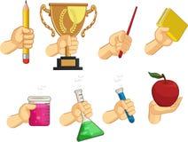 Собрание знака руки - жесты школы Стоковое Изображение RF
