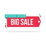 Собрание знака стикера продажи предложения ярлыка цены spesial иллюстрация вектора