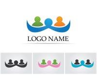 Собрание значков людей в круге - Vector община, компания, звезда, корпоративная, иллюстрация вектора