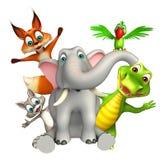 Собрание дикого животного Стоковые Изображения RF