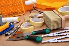 Собрание инструментов картины готова к использованию для hobbyist и профессионала стоковые изображения