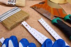Собрание инструментов картины готова к использованию для hobbyist и профессионала стоковые изображения rf