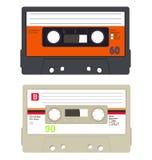 Собрание кассеты Стоковое Фото