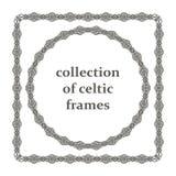 Собрание кельтских рамок Стоковое Изображение RF