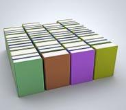 Собрание книг Стоковые Изображения