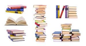 собрание книг старое Стоковое Фото