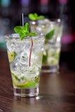 Собрание коктеилей - Mojito Стоковое Фото