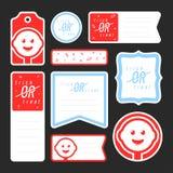 Собрание конфеты ведя дневник карточки Стоковое Изображение RF