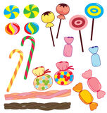 собрание конфеты Стоковые Фото