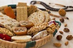 Собрание конфет фасолей и помадок Mawlid Halawa стоковое фото