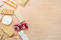 Собрание конфет фасолей и помадок Mawlid Halawa Стоковые Изображения