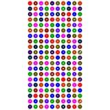 Собрание красочных всеобщих значков иллюстрация вектора