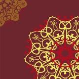 Собрание красочных круглых орнаментов Стоковые Фото